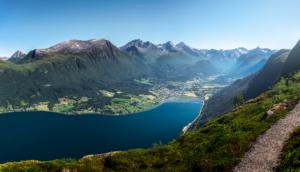 Isfjorden i Møre og Romsdal