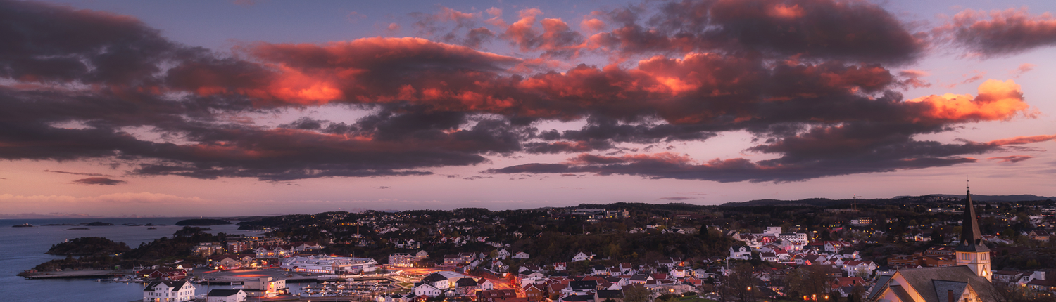 Grimstad by