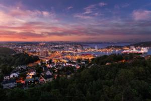 Solnedgang Kristiansand